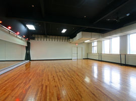 Rehearsal studios space