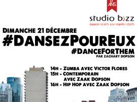 Soyez des nôtres pour la toute première édition de #DansezPourEux!
