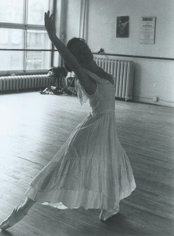 Cours de ballet avec Anne-Marie Laffont