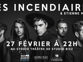 Une nuit Incendiaires au Studio Bizz pour la Nuit blanche à Montréal