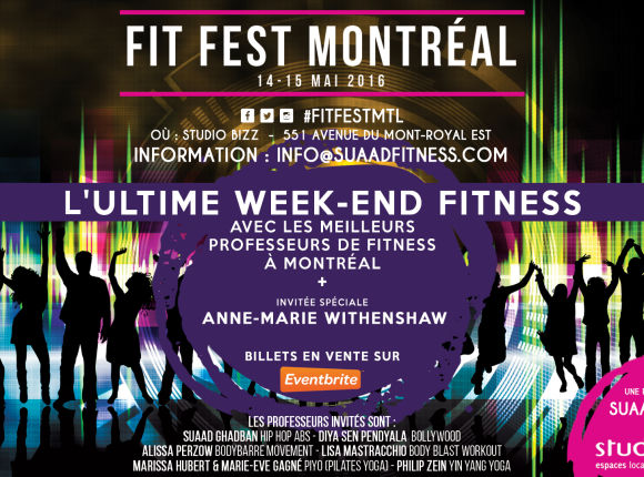 FITFEST MONTRÉAL : L'ultime week-end fitness