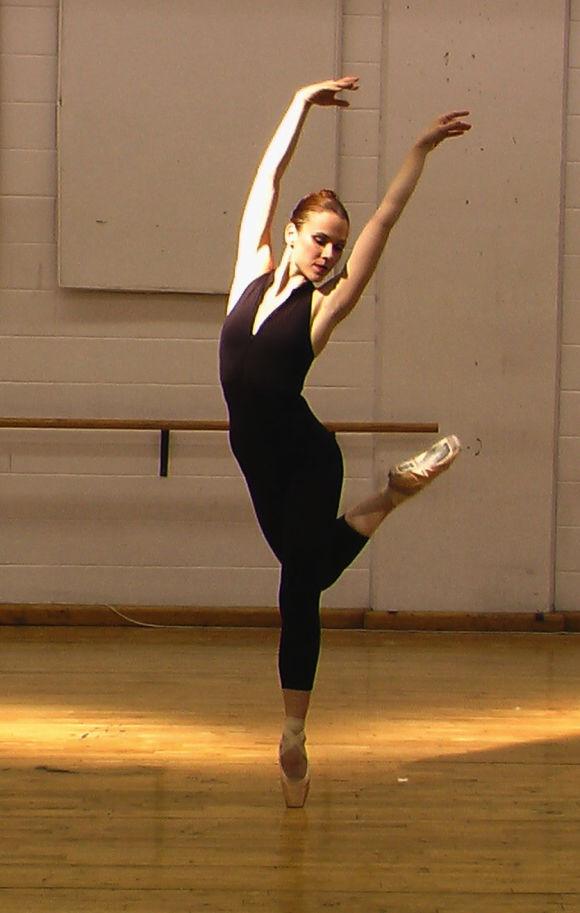 Cours de ballet avec Mélanie Lebrun