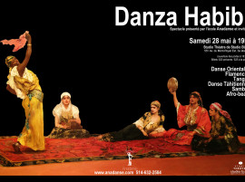 Danza Habibi – Spectacle présenté par l'école Anadanse et invités