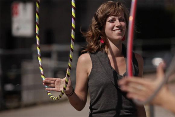 Hula Hoop avec Hoop Montréal