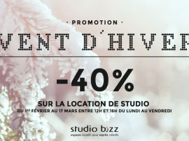 (Français) PROMOTION VENT D'HIVER AU STUDIO BIZZ