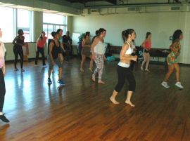 Samba Passista avec L'Académie Samba Jeri