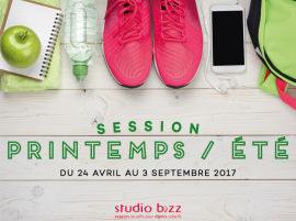 NOUVELLE SESSION PRINTEMPS/ÉTÉ 2017