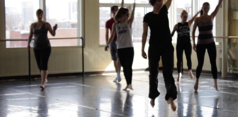 Cours technique – Danse moderne avec Marie-Pier Fortier