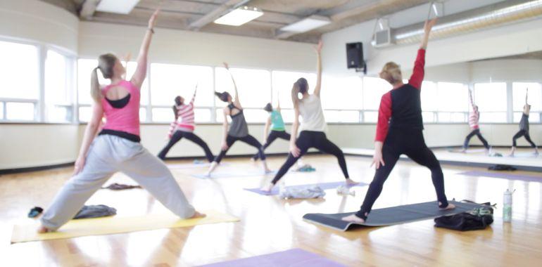 Cours chorégraphique et Yoga avec Marie-Pier Fortier