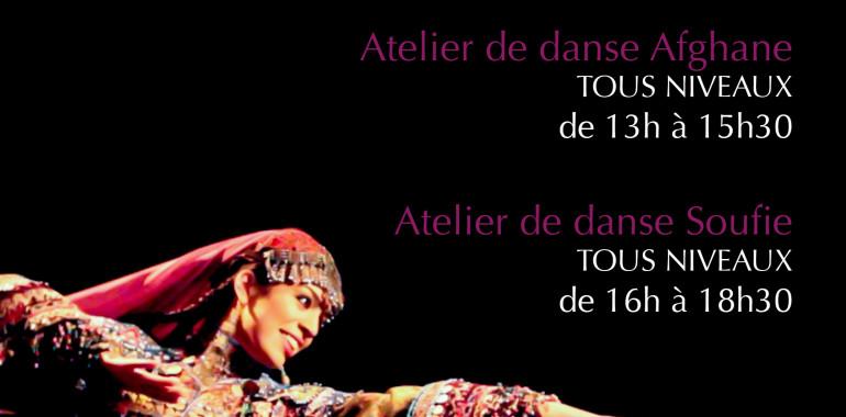 Studio Bizz présente :  Ateliers de danse afghane et de danse soufie avec Rana Gorgani le 10 novembre 2013
