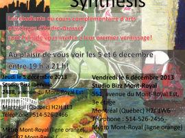 Exposition «Synthésis» des étudiants du Collège André-Grasset