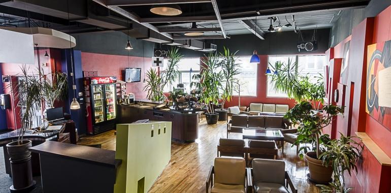 Café et lounge