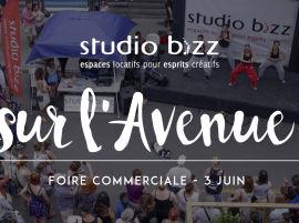 Studio Bizz sur l'Avenue lors de la Foire Commerciale
