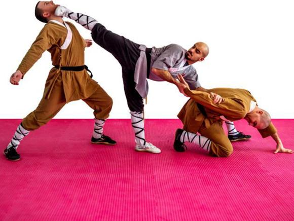 Shaolin Kung Fu avec ZhuJiao Hussein