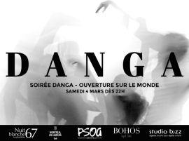 Soirée DANGA au Studio Bizz lors de la Nuit blanche à Montréal