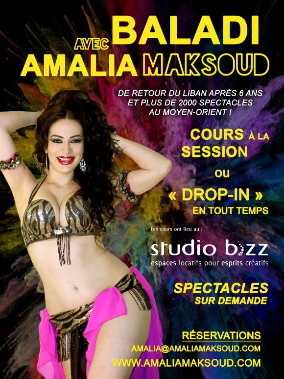 Baladi avec Amalia Maksoud