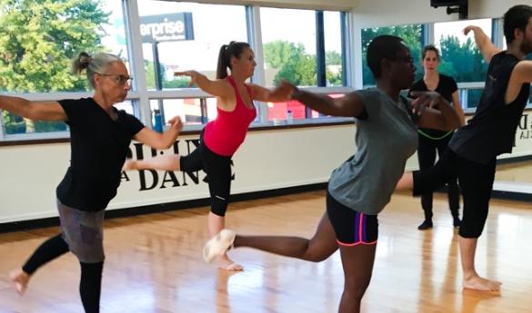 La danse moderne avec Marie-Pier Fortier