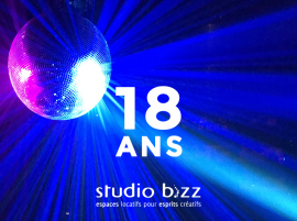 STUDIO BIZZ IS CELEBRATING 18 YEARS
