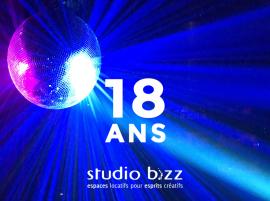 STUDIO BIZZ IS CELEBRATING 18 YEARS