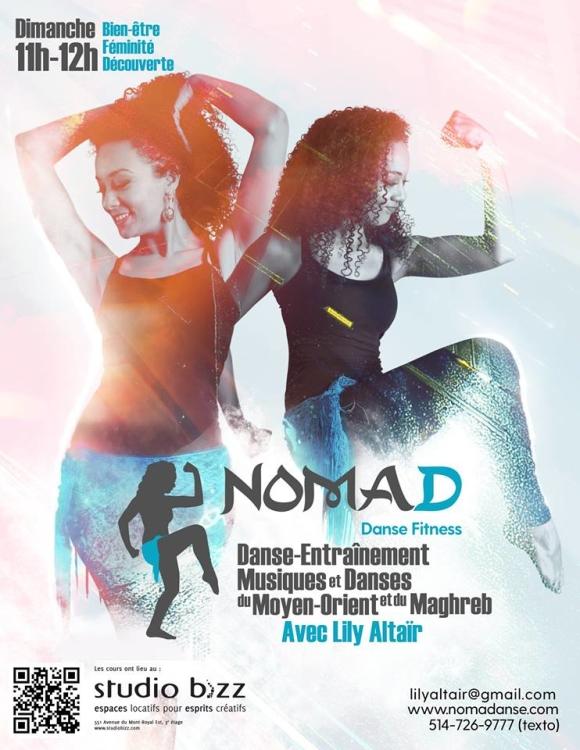 NOMAD – Danse Fitness avec Lily Altaïr