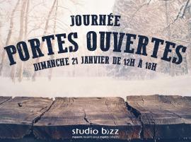JOURNÉE PORTES OUVERTES DE L'HIVER 2018 au STUDIO BIZZ