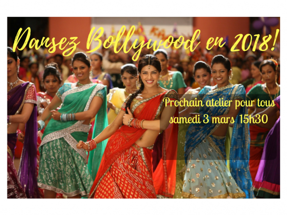 Danse Bollywood avec Véronic Morin