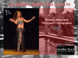 Atelier Baladi-Découverte avec Lily Altaïr