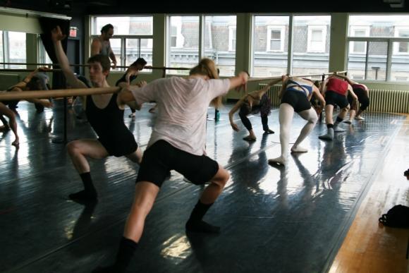 Ballet contemporain avec Benjamin Hatcher