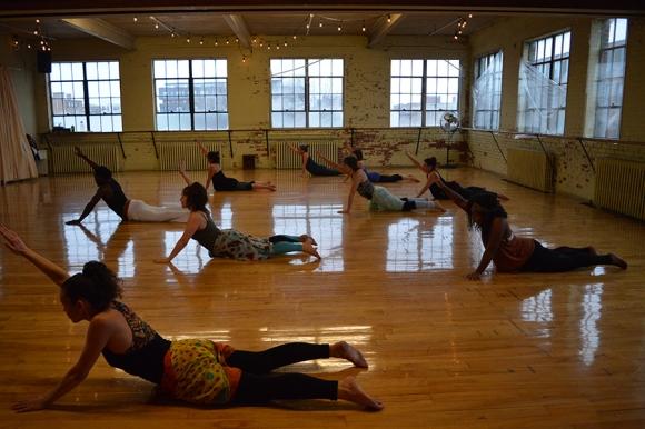 Danse afro-contemporaine avec Sale Almirante