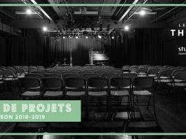 (Français) Appel de projets – Studio Théâtre de Studio Bizz