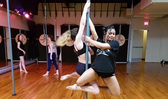Le Pole Fitness : un entraînement complet