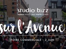 (Français) STUDIO BIZZ SUR L'AVENUE – FOIRE COMMERCIALE JUIN 2018