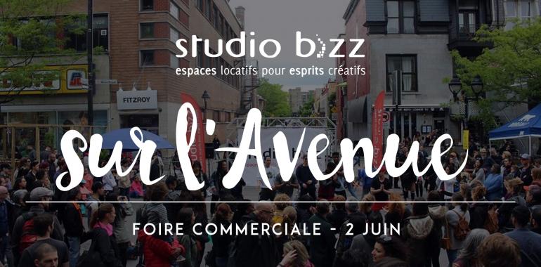 STUDIO BIZZ SUR L'AVENUE – FOIRE COMMERCIALE JUIN 2018