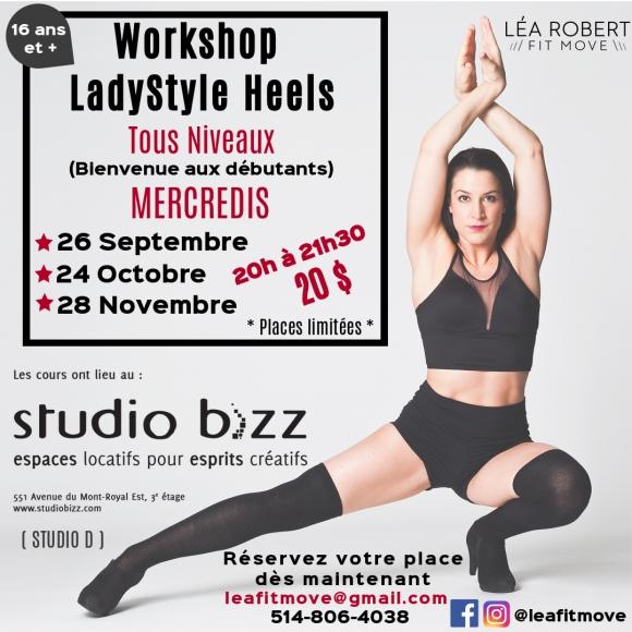 (Français) Ladystyle Heels avec Léa Robert
