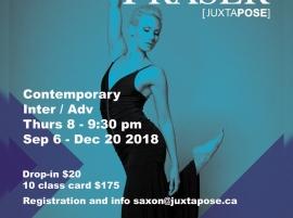 Danse contemporaine avec Saxon Fraser
