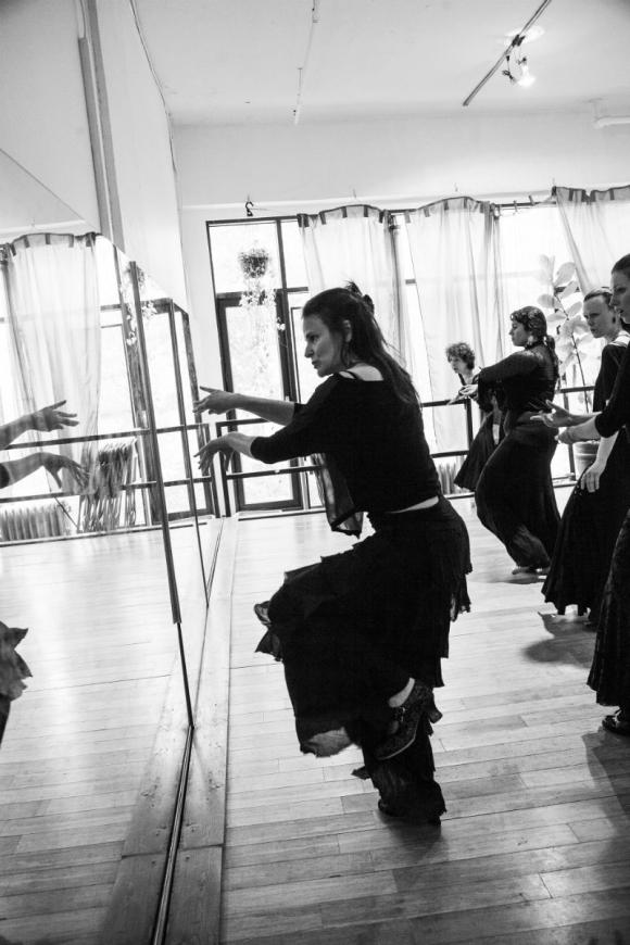 Flamenco avec Flamenco Delphine Mantha