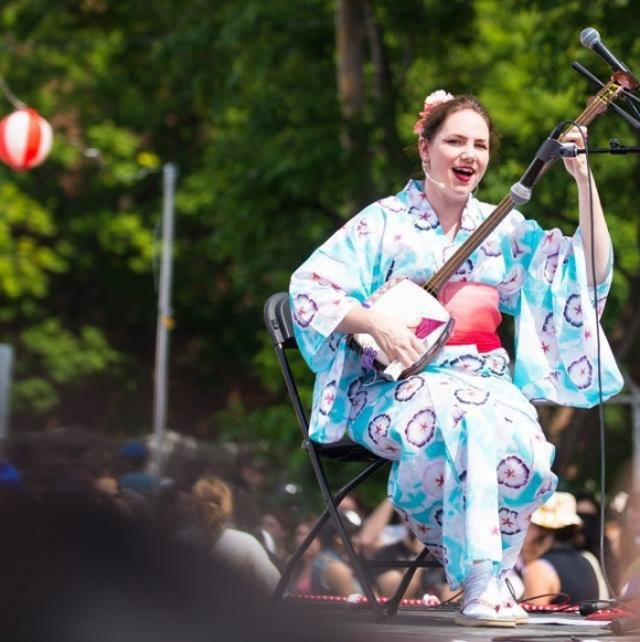 Jacinthe from MTL Shamisen Project