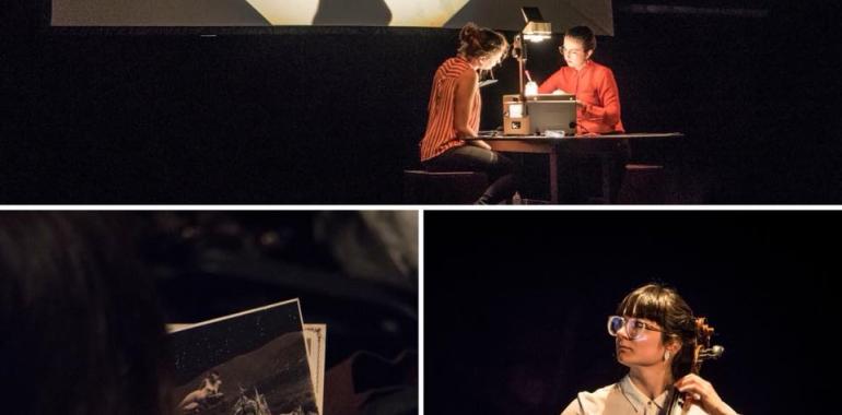 Le théâtre RétroColectivo en répétition au Studio Bizz pour les Journées de la Culture