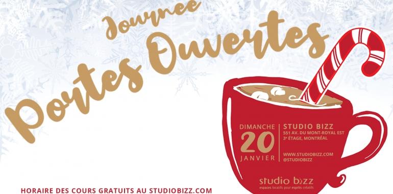 JOURNÉE PORTES OUVERTES DE L'HIVER 2019 AU STUDIO BIZZ