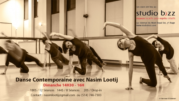 Contemporary dance with Nasim Lootij