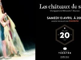 Les Châteaux de Sable de Mélissandre T-Bourassa au Studio Théâtre de Studio Bizz