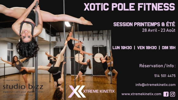Xotic Pole Fitness with Xtreme Kinetix