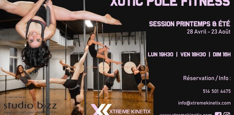 Xotic Pole Fitness with Xtreme Kinetix
