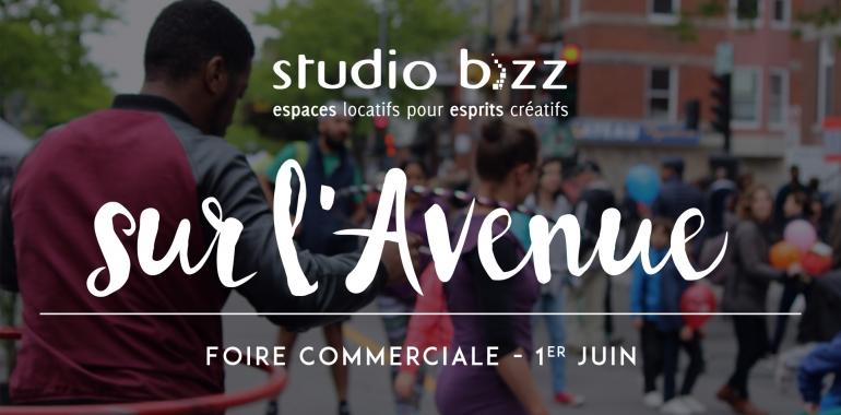 (Français) STUDIO BIZZ SUR L'AVENUE – FOIRE COMMERCIALE JUIN 2019
