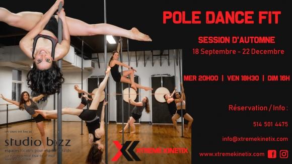Pole Dance Fitness avec Xtreme Kinetix