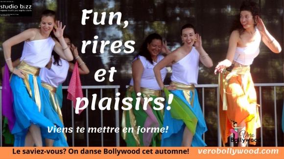 Danse Bollywood avec Véro Bollywood