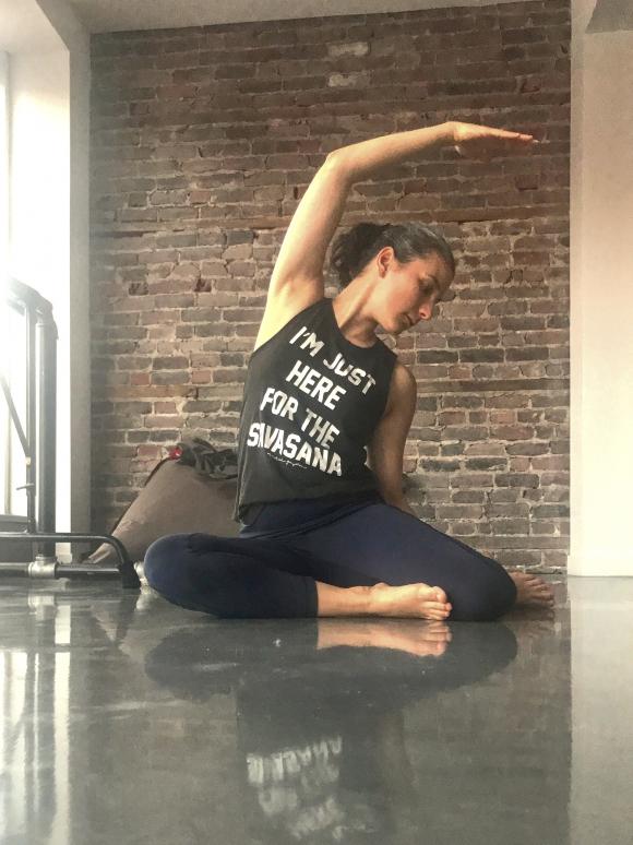 Pilates avec Marie-Eve Deschênes