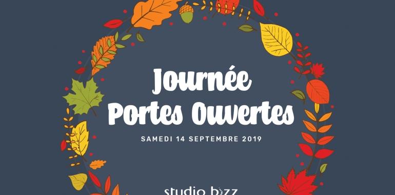 Journée PORTES OUVERTES de l'automne 2019 au Studio Bizz