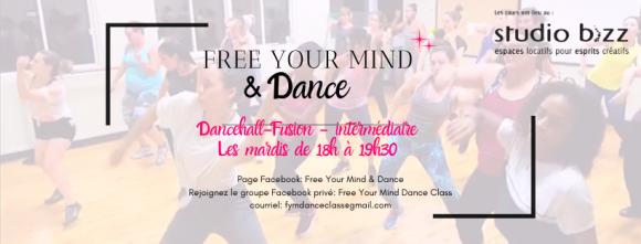 Dancehall Fusion avec Free Your Mind & Dance