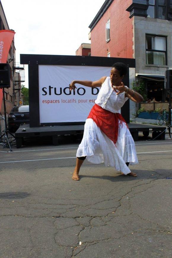 Danse Afro Karayib avec Jocelyne Saint-Léger